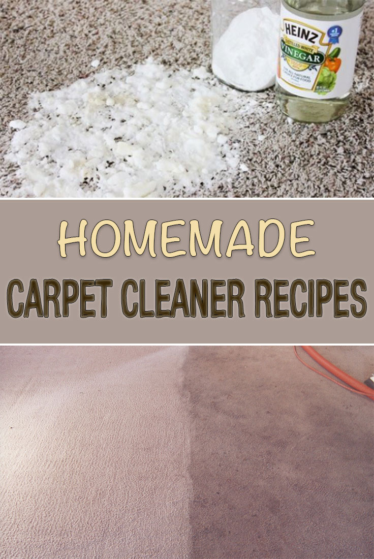 Homemade Carpet Cleaner Recipes Simple Tips For You