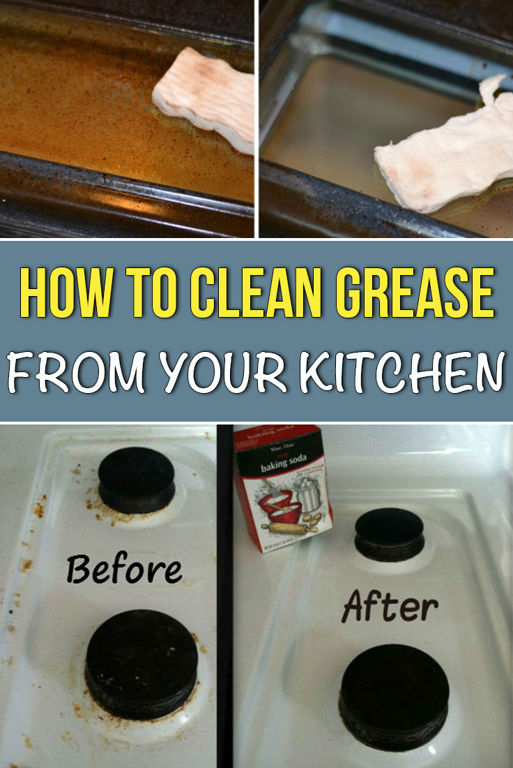 How to Clean Grease from Your Kitchen - Simple Tips for You
