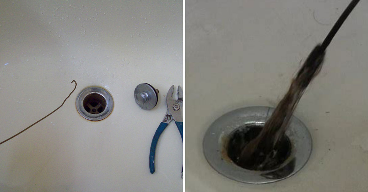 How To Clean And Unclog A Shower Or Tub Drain